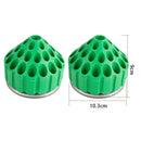 35 Holes 360 ° rotation burs holder For Dental Silicone Polishing Burs