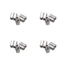 100Pcs Dental Orthodontic Crimpable Hooks Double Tube Stops