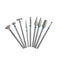 10Pcs 2.35mm Dental Sintered Diamond Point Polisher HP Shank Rotary Bur Set