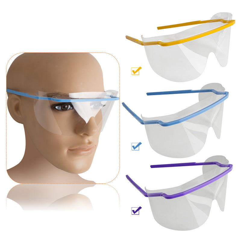 5PCS Dental Disposable Eye Shield Face Mask Face Shield Safety