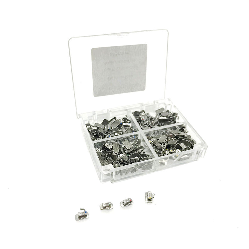 50Sets Dental Orthodontic Monoblock / Bondable 1st Molar Roth 022 Single Buccal Tube