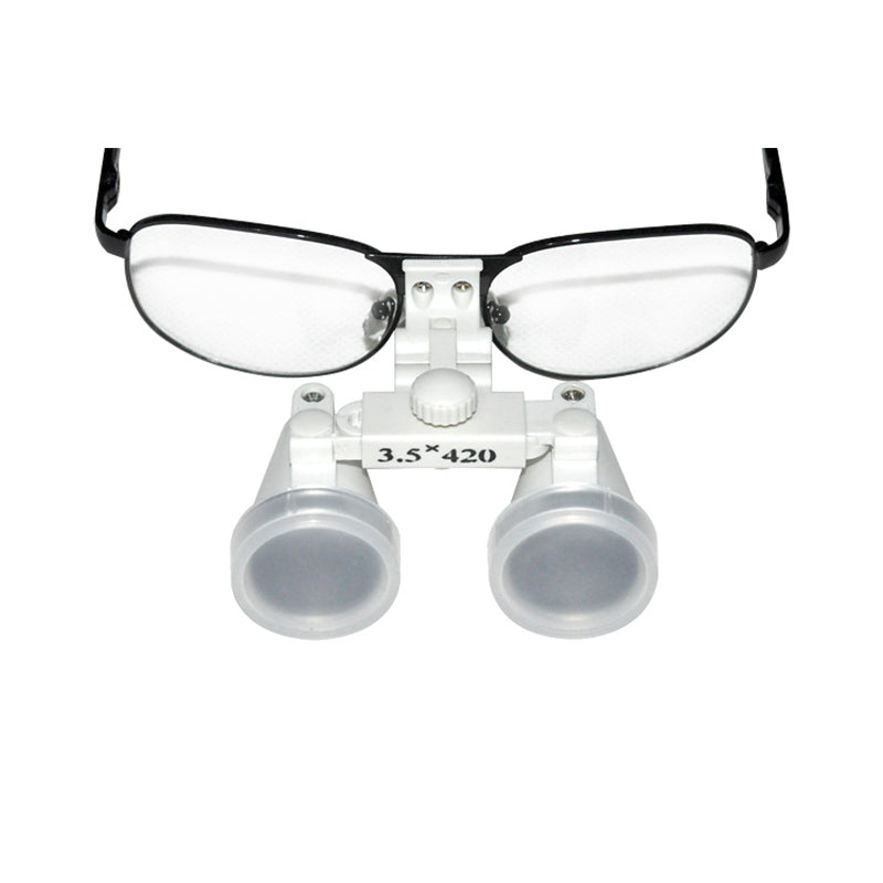 Dentist Dental Loupes Surgical Medical Binocular Loupes 3.5X 420mm