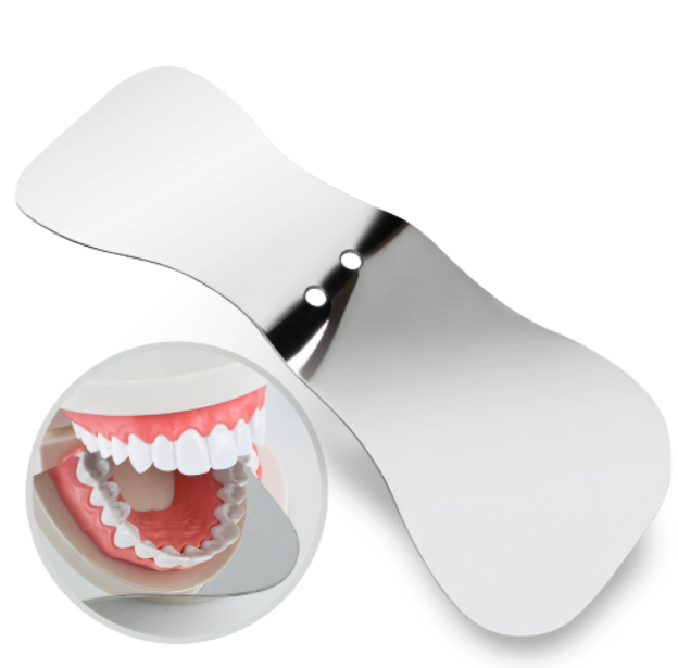 Dental Orthodontic Photograph Mirror Photographic Stainless Steel Reflector