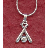 Softball Bats Necklace