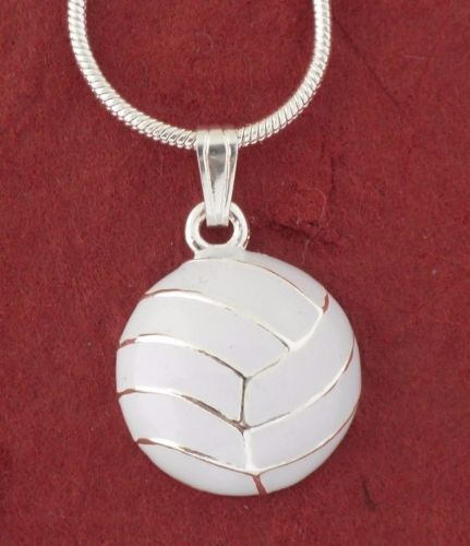 White Netball Necklace
