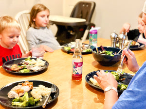Knit Your Family Together with National Family Meals Month