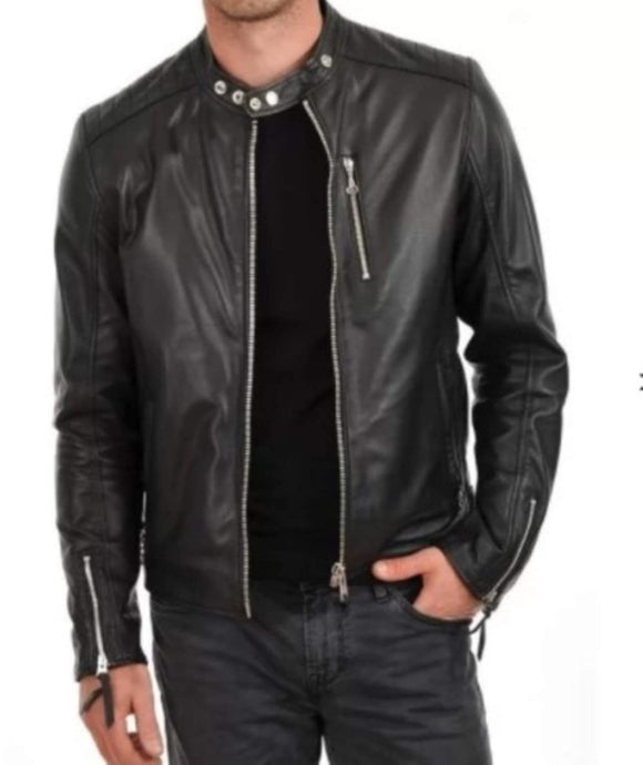Original Leather Jacket for Men - Black Jack