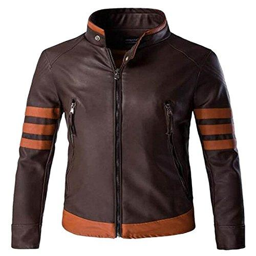 Men's Pure Leather Brown Jacket