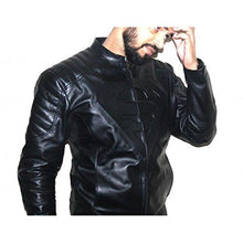Load image into Gallery viewer, Genuine Leather Superman Jacket