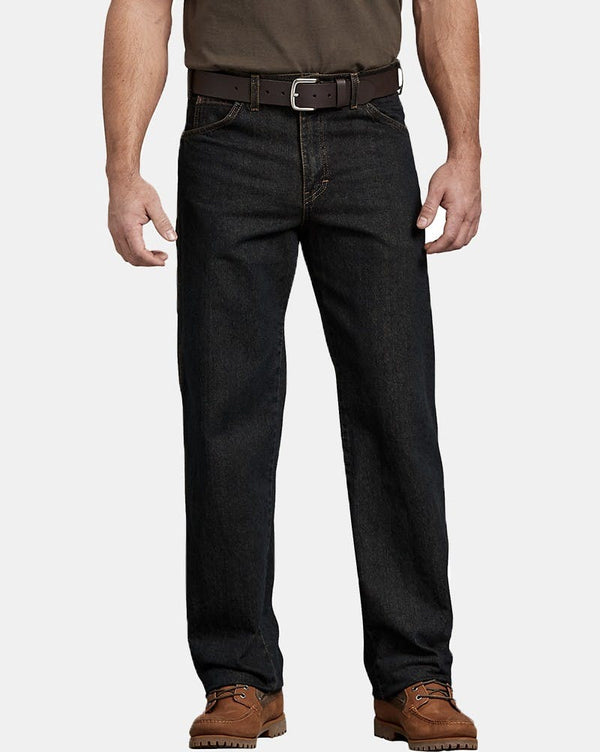 Dickies Relaxed Fit Carpenter Denim Jean - Black