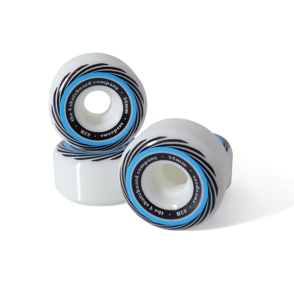 4 Company Sweepers Wheels 83b - Blue 54mm