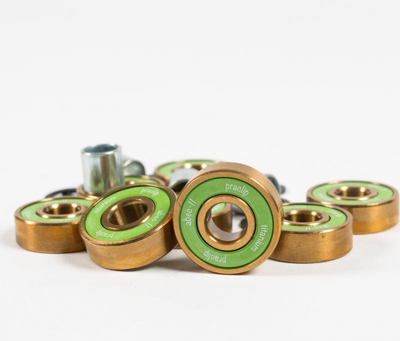 PraClip Titanium Bearings