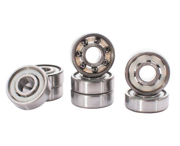 Sunday Shieldless Titanium Bearings
