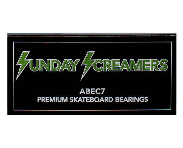 Sunday Screamers ABEC 7 Bearings