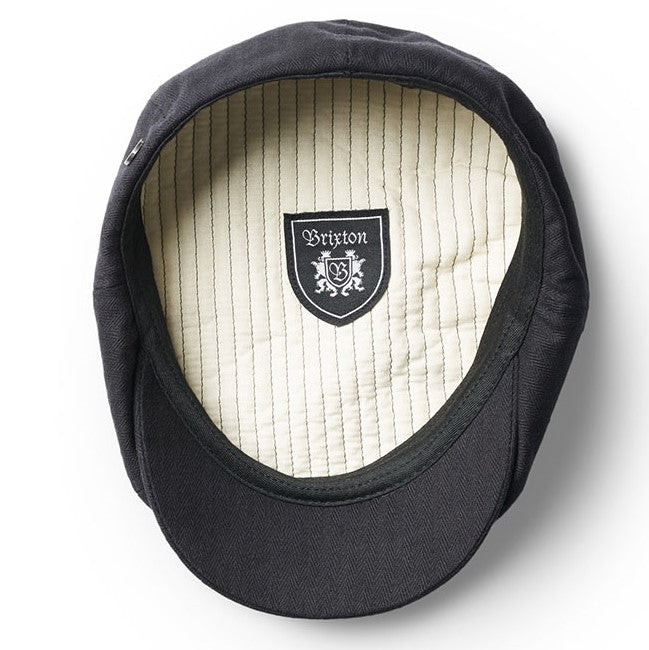 Brixton Brood Snapcap - Black