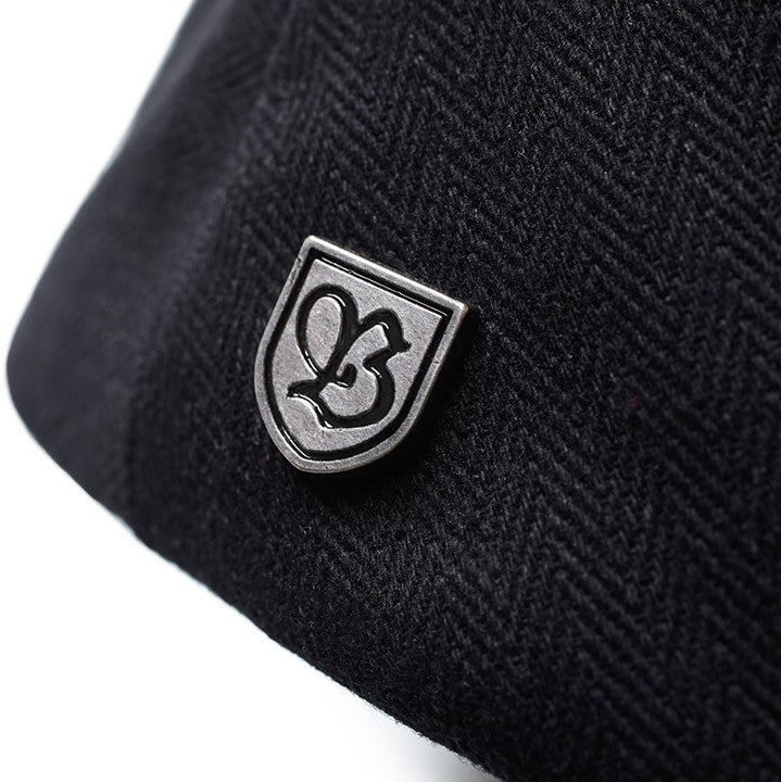 Brixton Hooligan Snap Cap - Black