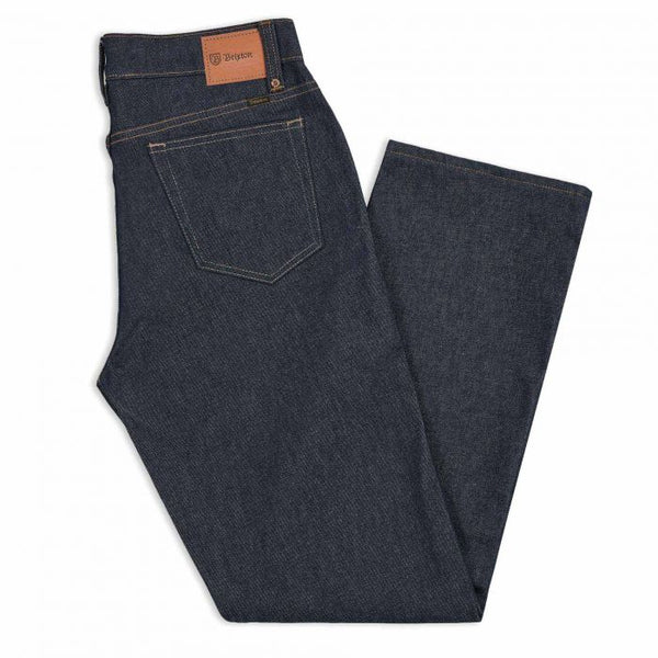 Brixton Labor 5-Pocket Pant Relaxed Fit - RAW Denim