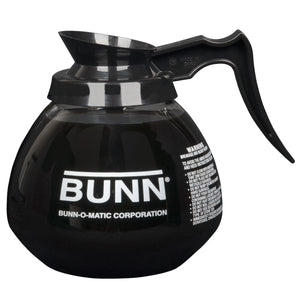 Bunn 64oz Black Handle Glass Decanter (Single Pack)