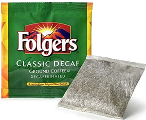 Folgers Coffee - Room Service Decaf - 200 - .6 oz Filter Pack - 4 Cup