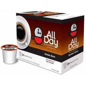 All day gourmet single cup - bolder brew