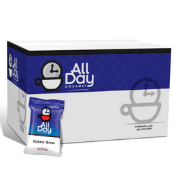 All Day Gourmet Coffee - Bolder Brew - 1.25 oz Pillow Packs - Coffee Wholesale USA