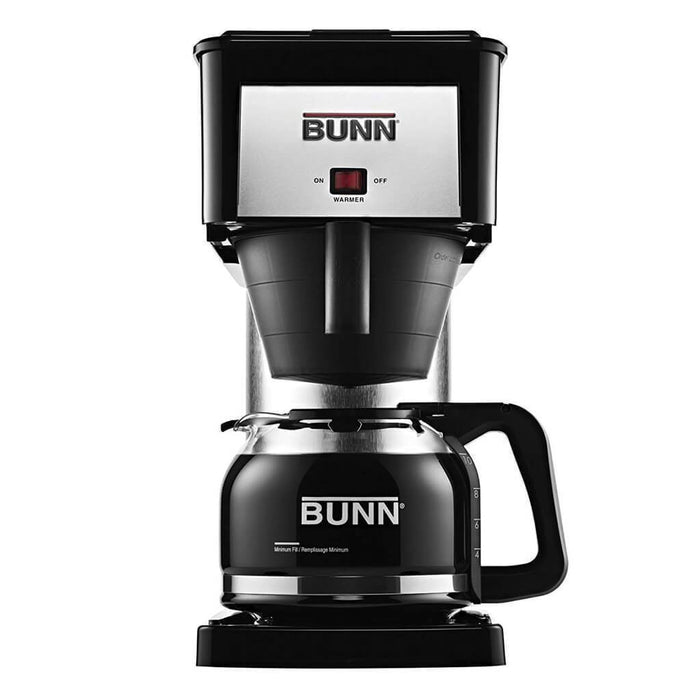 Bunn BTX-B Home Coffee Maker with Thermal Carafe - Black/Stainless