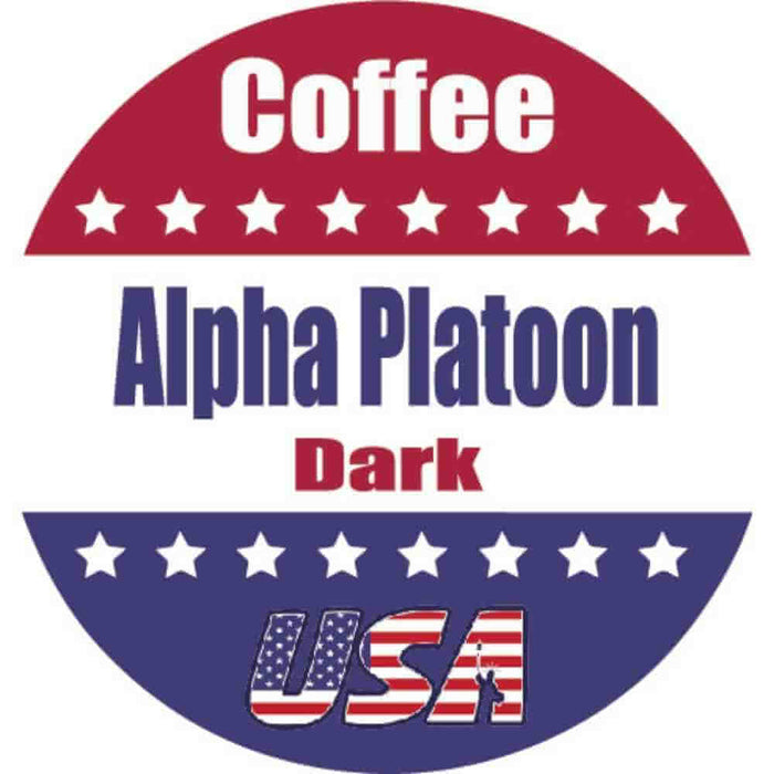 Alpha Platoon - (Dark Roast) Single Cups