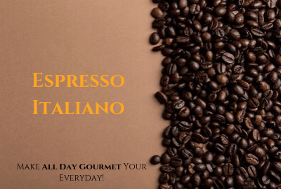 All Day Gourmet Fresh Roasted Coffee - Espresso Italiano