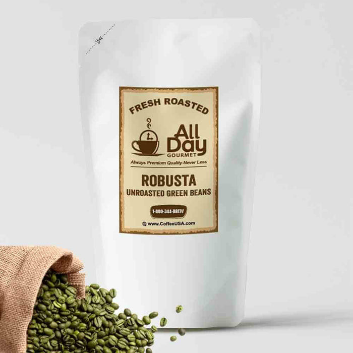 Robusta Raw Green Beans