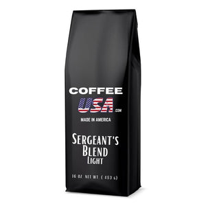 Sergeant's Blend Coffee (Light Roasted)