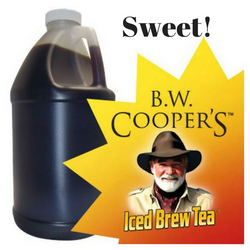 B.W. Coopers Classic Sweet Tea Concentrate Jug - Coffee Wholesale USA