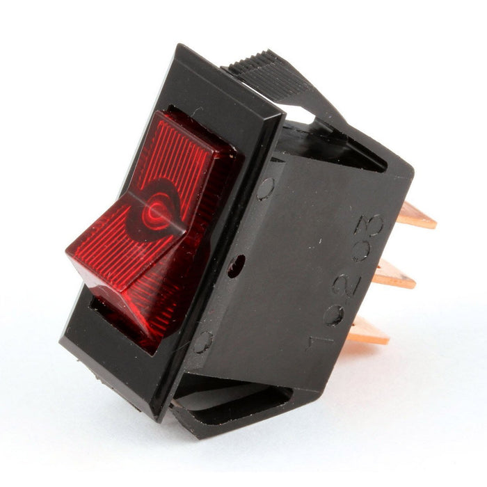 Bunn Commercial Switch, 120V, Lighted Red On/Off - 12920.0000
