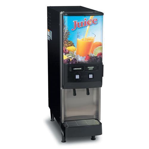 Bunn JDF-2S Two-Flavor Gourmet Cold Beverage System