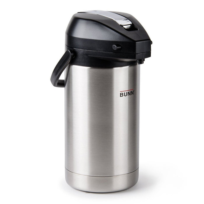 Bunn Airpot - Stainless Steel Liner - 3.0L Capacity Pump Pot - 32130.0000