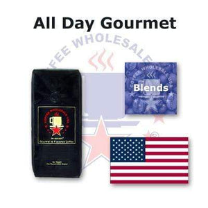 All Day Gourmet Fresh Roasted Coffee - House Blend - Coffee Wholesale USA