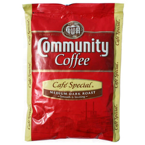 Community Coffee - Cafe Special - 2.5oz Pillow Pack - 40ct Box - Coffee Wholesale USA