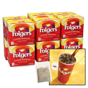 Folgers Single Cup Coffee Bags - Regular - Coffee Wholesale USA