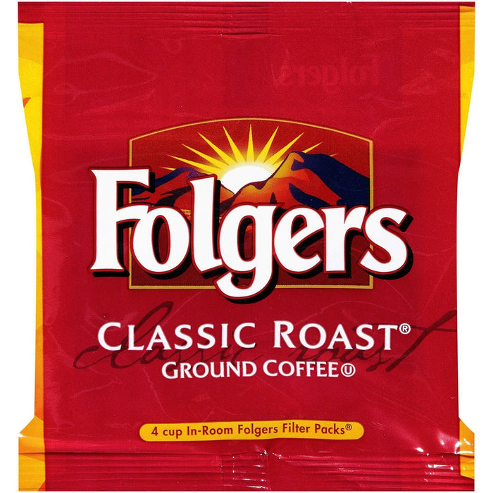 Folgers Coffee - Room Service REGULAR - 200/0.60oz Filter Pack - 4 Cup