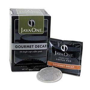 Java One Coffee Pods - Gourmet DECAF (Colombian)