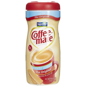 Coffee-mate Powdered Creamer - Original Lite - 11oz Canister - Coffee Wholesale USA