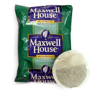 Maxwell House Coffee - Special Delivery DECAF - 12 Cup Filter Pack - 42 Packs - 1.3 oz