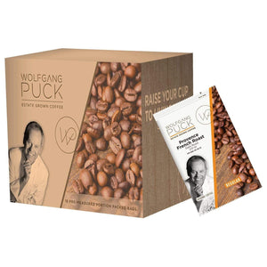 Wolfgang Puck Coffee - 2 oz Pillow Packs - Provence French Roast - Coffee Wholesale USA