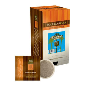 Wolfgang Puck Coffee - Rodeo Drive - Soft Pods - Coffee Wholesale USA