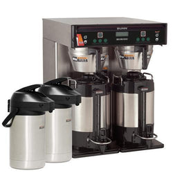Bunn ICB Twin Automatic Infusion Coffee Brewer (Stainless) - Coffee Wholesale USA