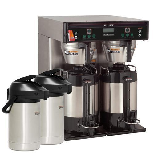 Bunn ICB DBC Twin Automatic Infusion Coffee Brewer (Stainless)