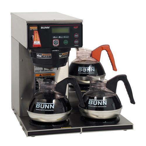 Bunn Axiom-15-3 Automatic Coffee Brewer - Low Profile - 120V only