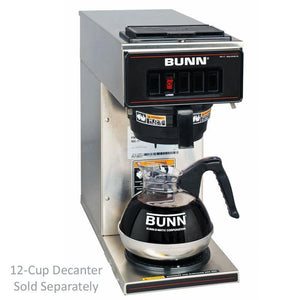 Bunn VP17-1 Pourover Coffee Brewer - 13300.0001 - Stainless Decor - Coffee Wholesale USA