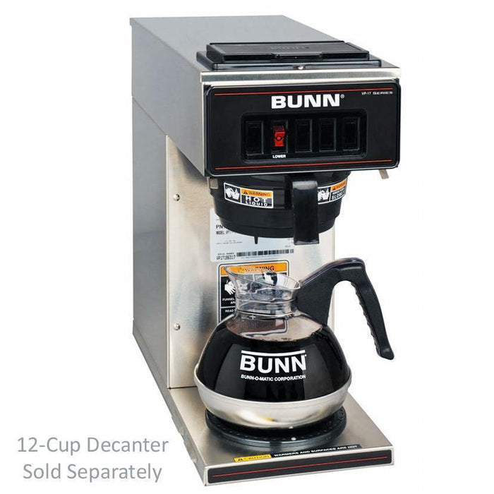 Bunn VP17-1 Pourover Coffee Brewer - 13300.0001 - Stainless Decor