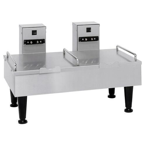Bunn Dual Soft Heat Satellite Serving Stand, Stainless