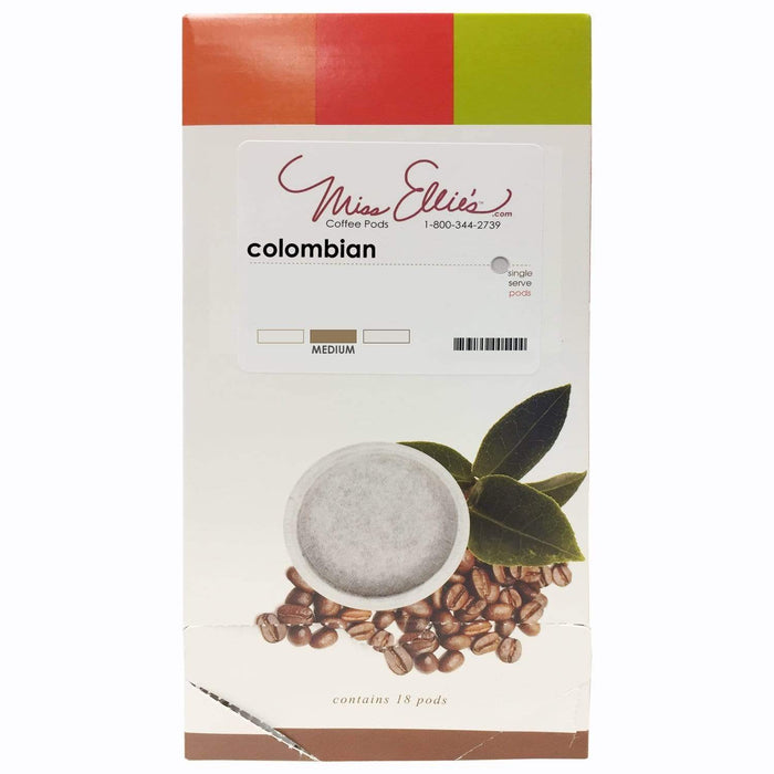 100% Colombian Coffee Pods
